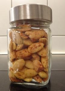 paprika- und currymandeln