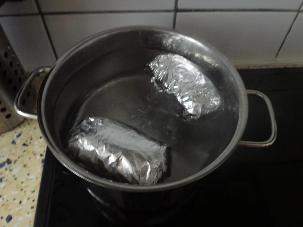 kochende knödel