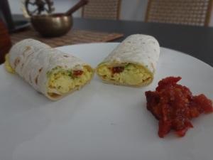 frühstücks wrap
