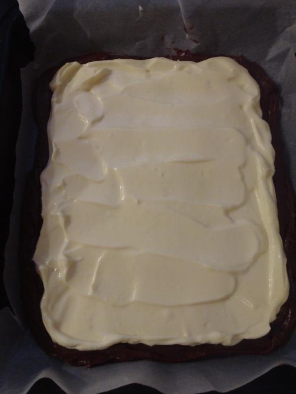 brownie mit cream cheese