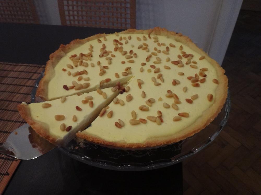 zitronen-ricotta-tarte