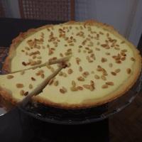 sommerliche italienische zitronen-ricotta-tarte