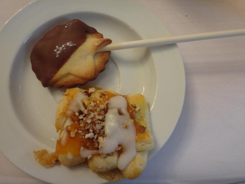 keks-pops und wiener pecan