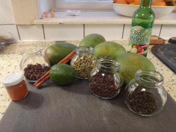 zutaten mango chutney