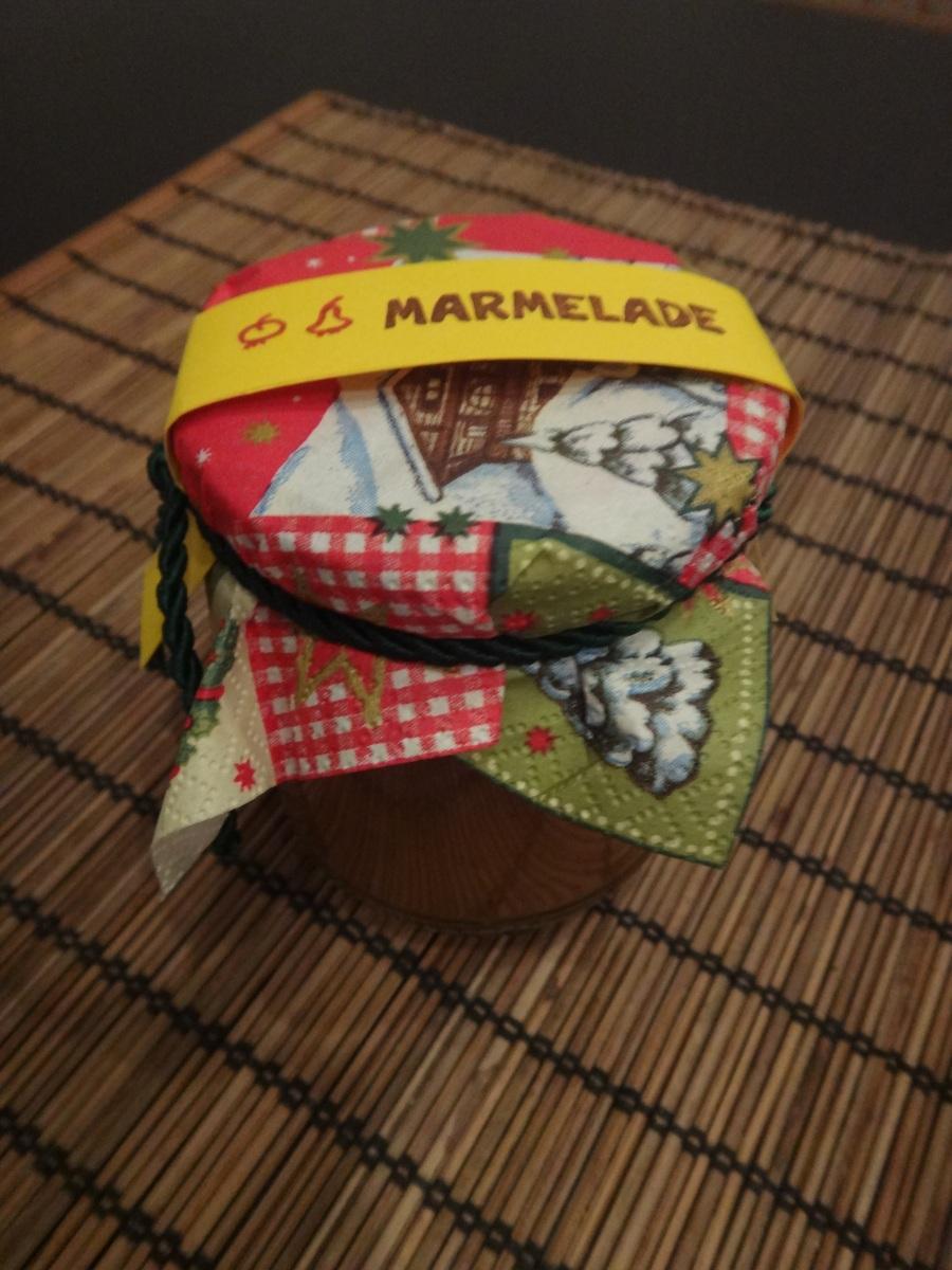 geschenke aus der küche - winterliche apfel-birnenmarmelade