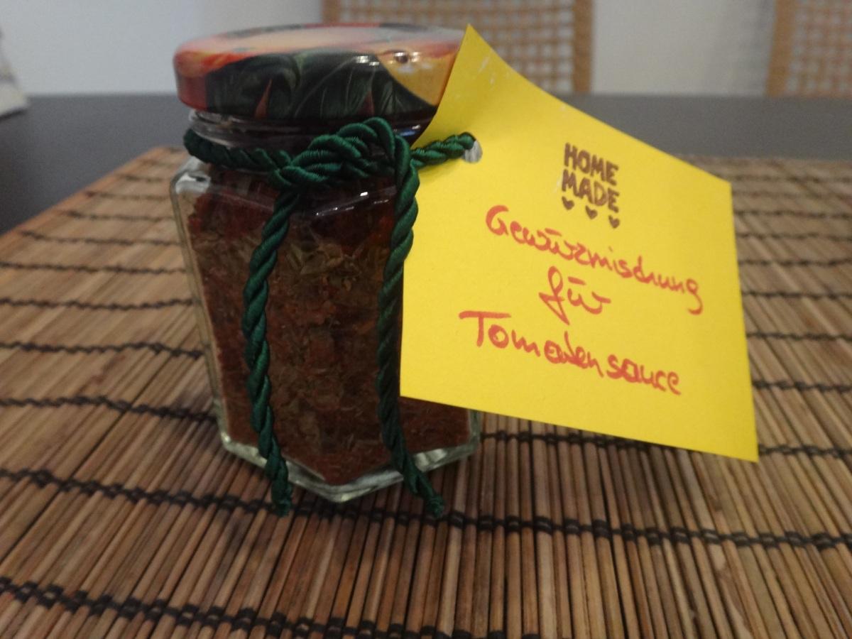 geschenke aus der küche - gewürzmischung für tomatensauce