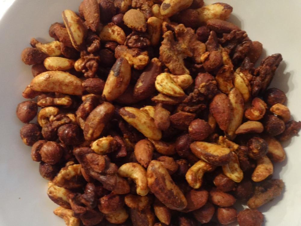 würzige nüsse