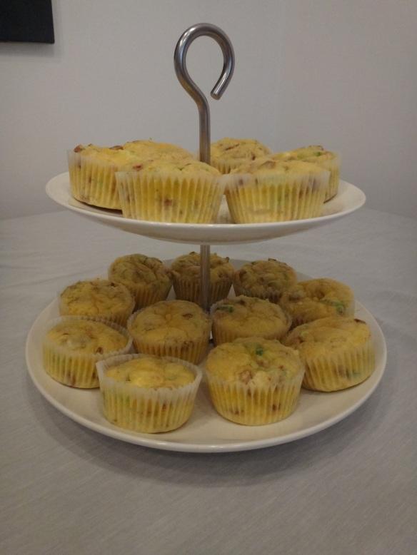 pikante muffins