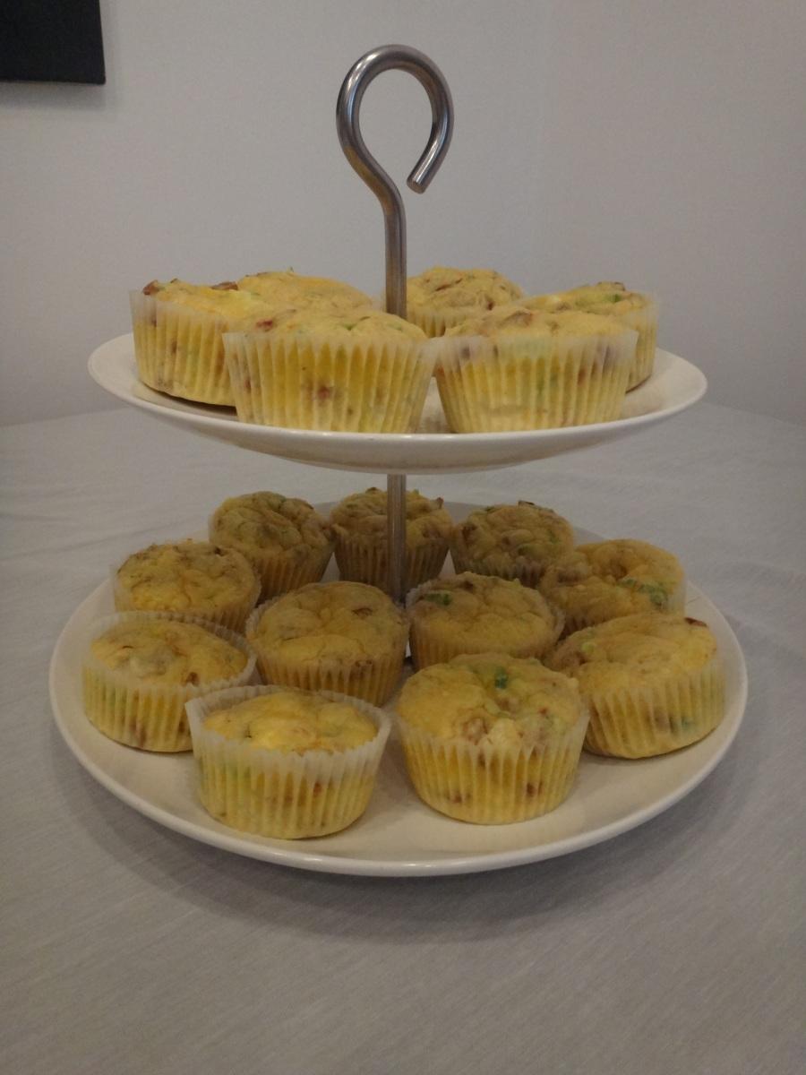 pikante polentamuffins
