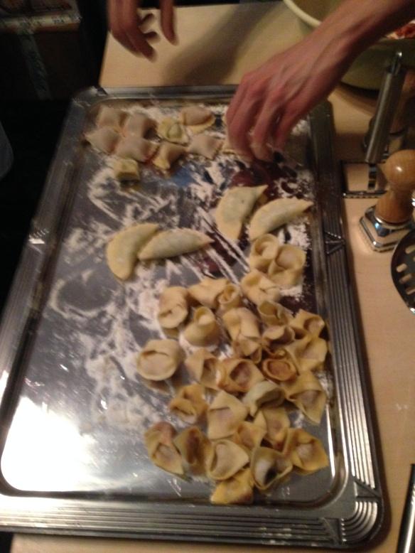 gefüllte pasta