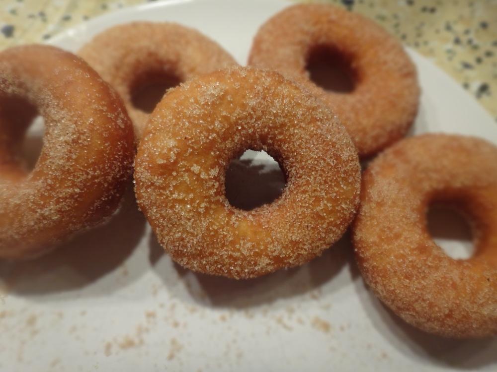 donuts mit zimtzucker