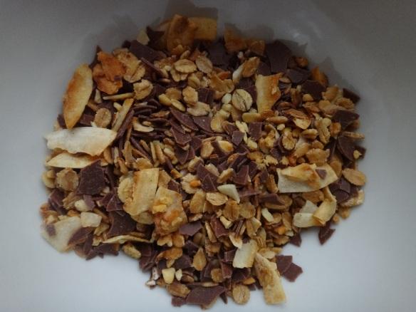 granola mit schoko