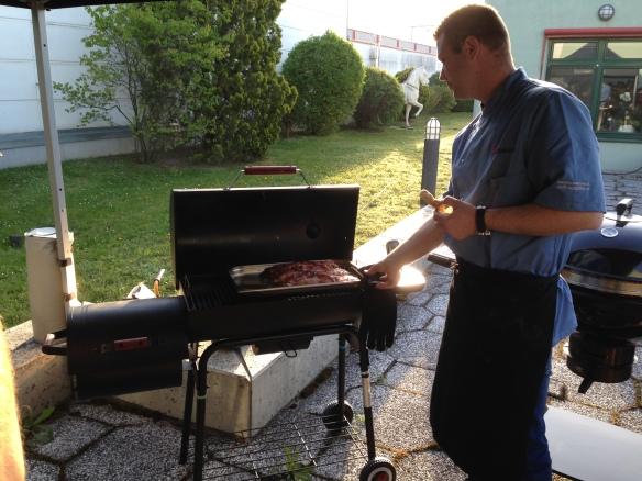 grillweltmeister am werk