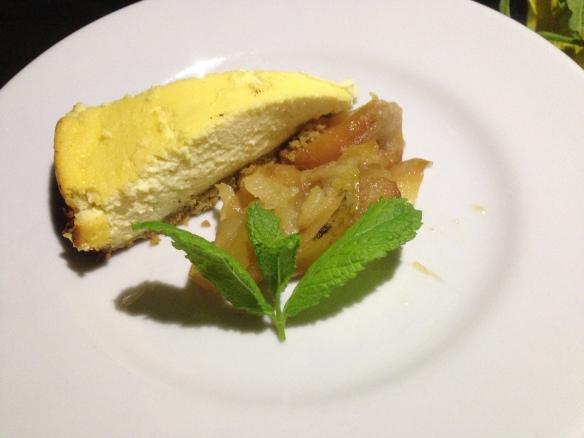 topfenkuchen mit äpfeln