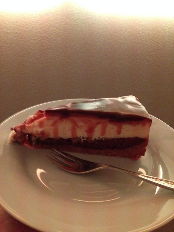 double cheesecake mit karamell und schoko 2