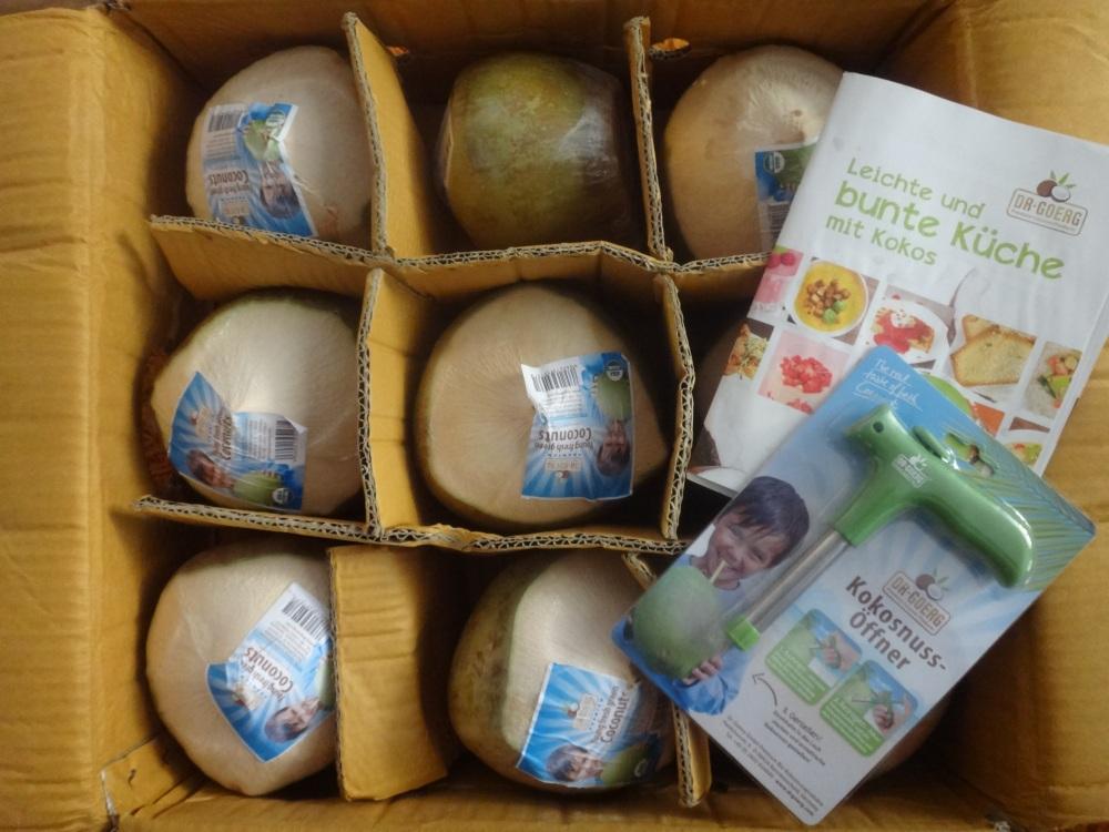 frische junge kokosnüsse von dr goerg