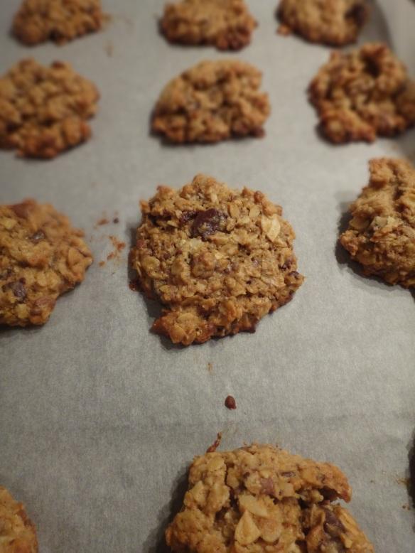 kokosnuss haferflocken cookies