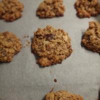 kokosnuss haferflocken cookies mit schoko