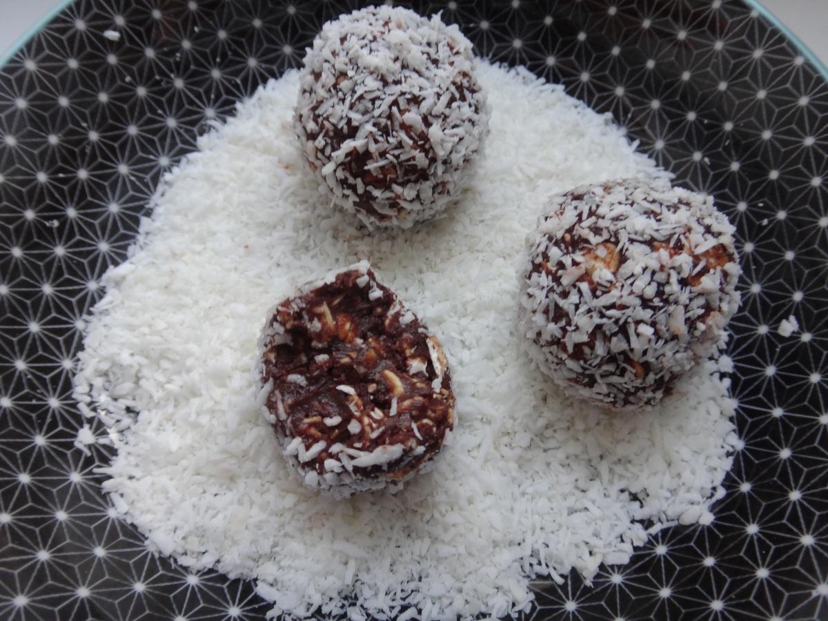chokladbollar - schwedische schokobällchen