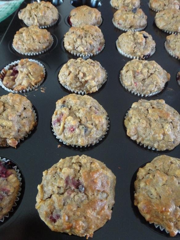 mini müsli muffins