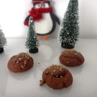 weihnachtskekse - schokokekse mit haselnuss