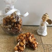 geschenke aus der küche - erdnuss-karamellriegel