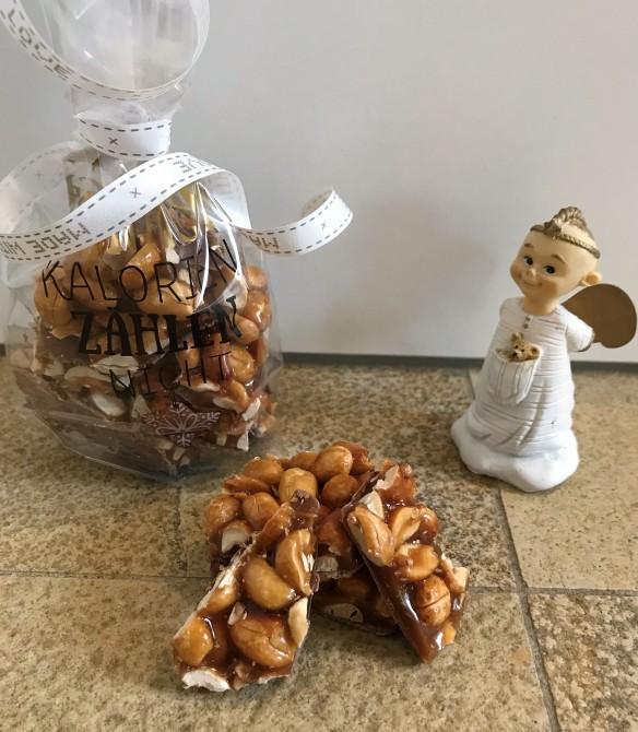 erdnuss karamell riegel