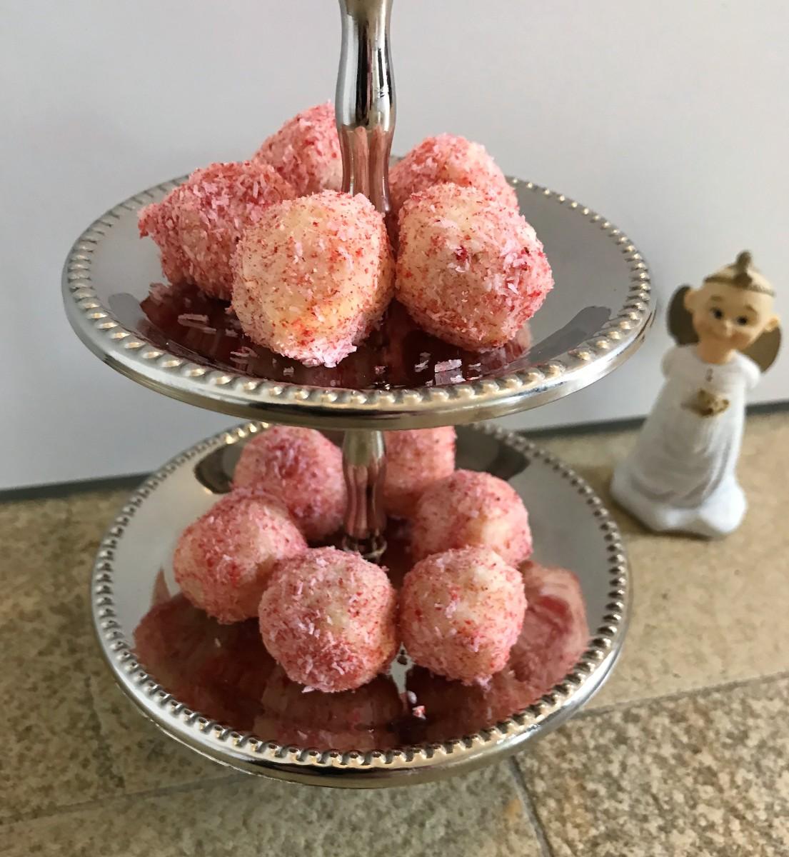 geschenke aus der küche - macadamia-kokostrüffel