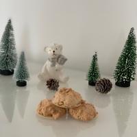 weihnachtskekse - kokosbusserl